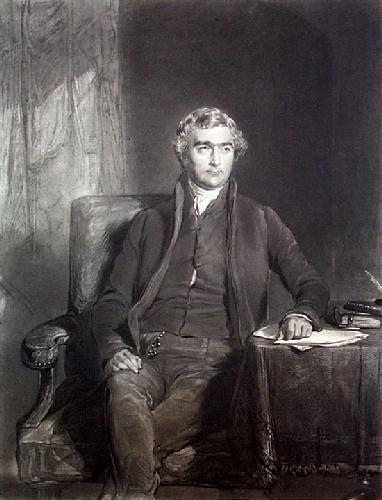 Joseph John Gurney (Restrike Etching) by George Richmond