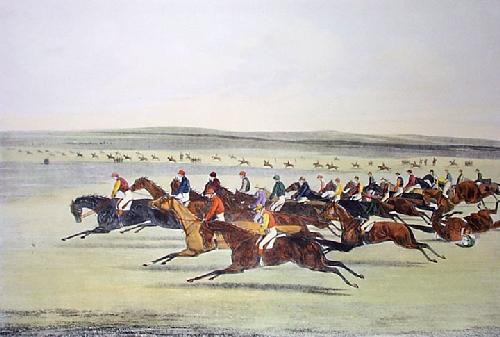 Cambridgeshire Stakes, The (Restrike Etching) by Henry Alken