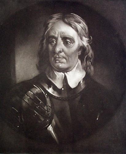 Cromwell (Restrike Etching) by John Burnett