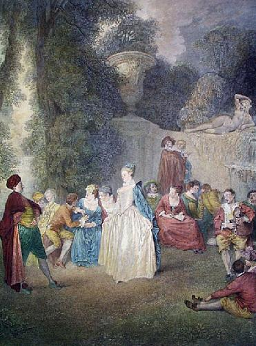 The Dance (Restrike Etching) by Dunthorne