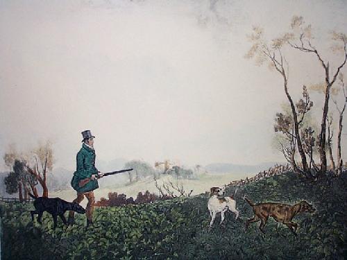 Partridge (Restrike Etching) by William Henry Davis