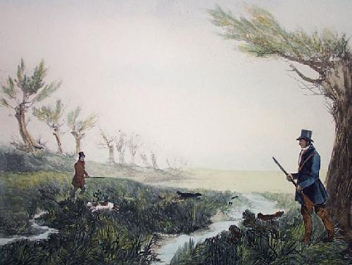 Snipe (Restrike Etching) by William Henry Davis