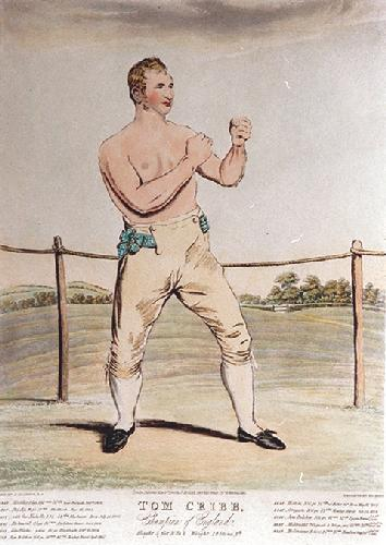 Tom Cribb (Restrike Etching) by John Jackson