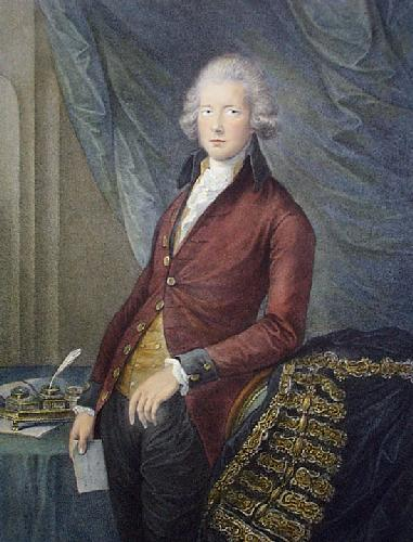 William Pitt (Restrike Etching) by G. Dupont