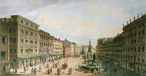 Vienna (Restrike Etching) by IH Clark