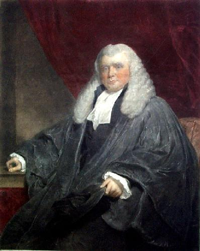 Hon. Sir J Nicholl Kt. (Restrike Etching) by William Owen