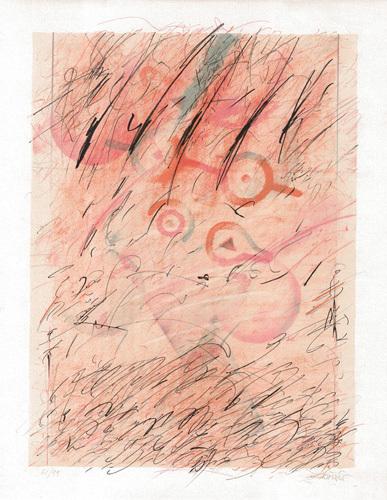 Gul komposition I by Paco Simon