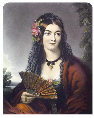 The Spanish Enchantress (Restrike Etching) by James Godsell Middleton