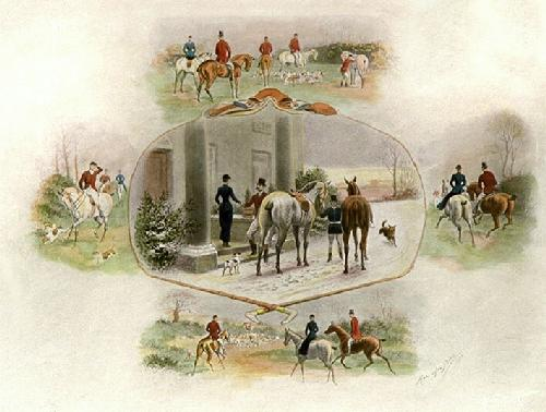 Successful Day (Restrike Etching) by Harrington Bird