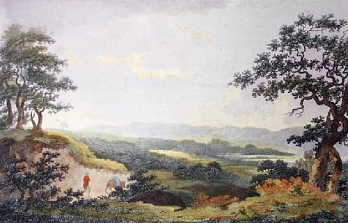 Hewels Field (Restrike Etching) by John Burden