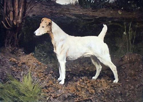 Sandown Violet (Restrike Etching) by Arthur Wardle
