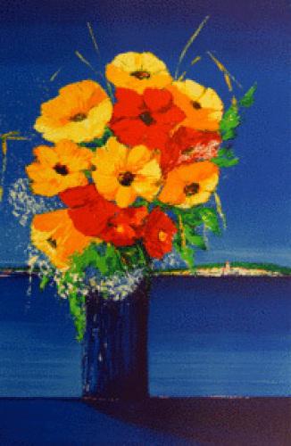 Le bouquet by Fenech
