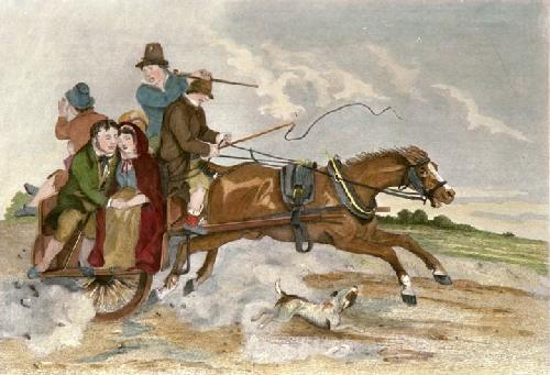 Donnybrook to Dublin (Restrike Etching) by Scanlon