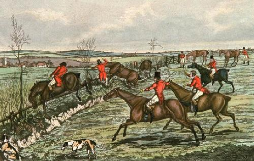 Creep Finish (Restrike Etching) by Henry Alken