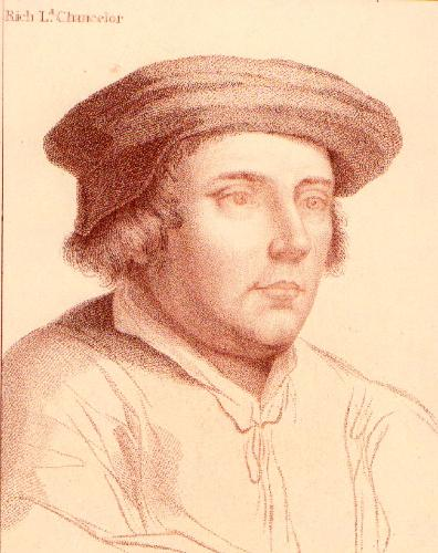 Chancellor (Restrike Etching) by Hans Holbein The Younger