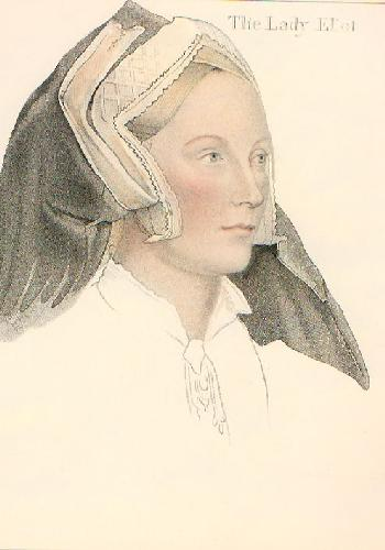 Eliot (Restrike Etching) by Hans Holbein The Younger