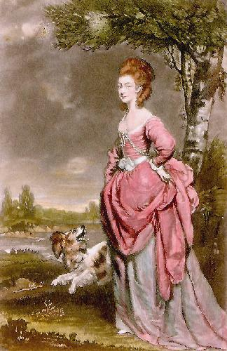 Mrs Mathew (Restrike Etching) by Sir Joshua Reynolds