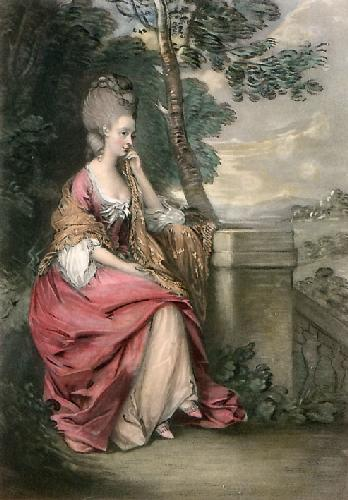 Countess of Chesterfield (Restrike Etching) by Thomas Gainsborough
