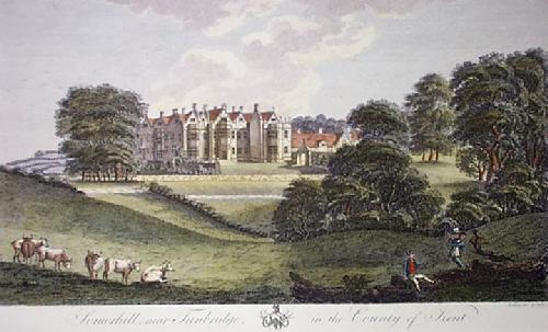 Somerhill (Restrike Etching) by Robert Godfrey