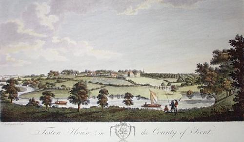 Teston House (Restrike Etching) by Robert Godfrey