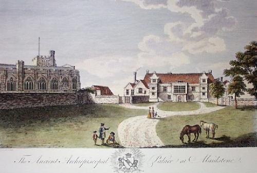 Maidstone (Restrike Etching) by Robert Godfrey