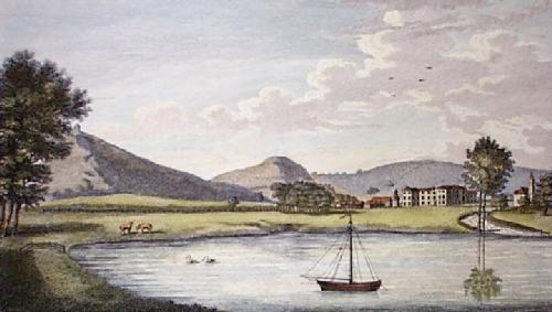 Beachborough (Restrike Etching) by Robert Godfrey
