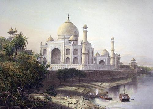 Taj Mahal (Restrike Etching) by Arthur Willmore
