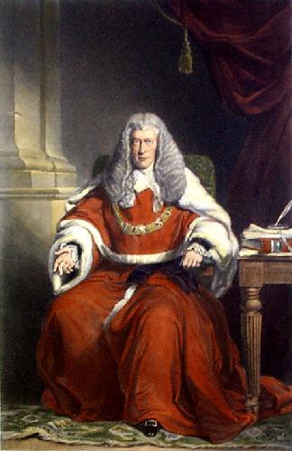 Hon. Sir Frederick Pollock (Restrike Etching) by F.W. Grant