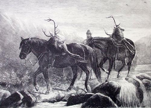 Returning (Restrike Etching) by Anonymous