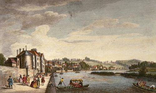 Richmond Hill from Cholmondelly (Restrike Etching) by Heckell