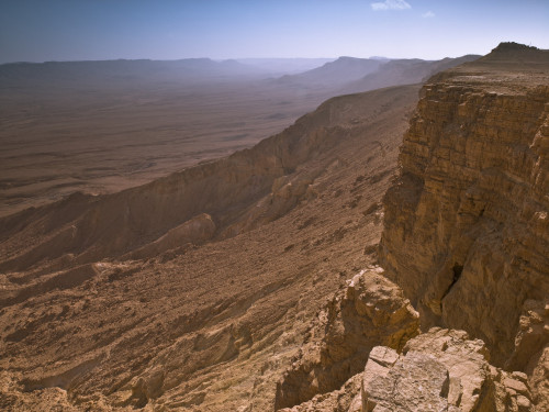 Desert Mountain, Ramon Crater, Israel by Assaf Frank
