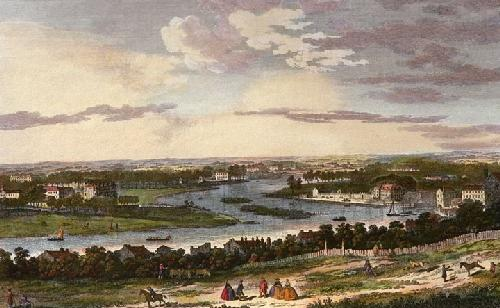 Richmond Down the River (Restrike Etching) by Jolly