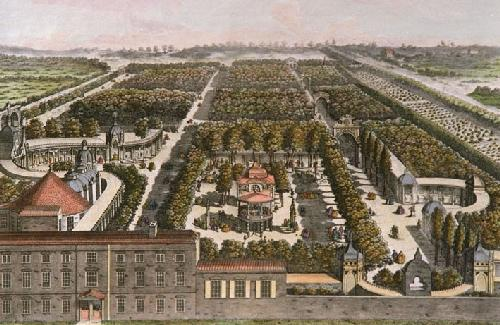 Vauxhall Gardens (Restrike Etching) by Wale