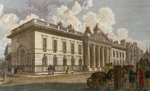 East India House (Restrike Etching) by Anonymous