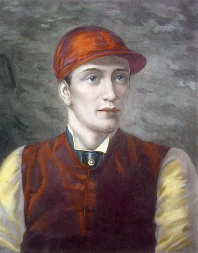 Fred Archer (Restrike Etching) by Rosa Corder