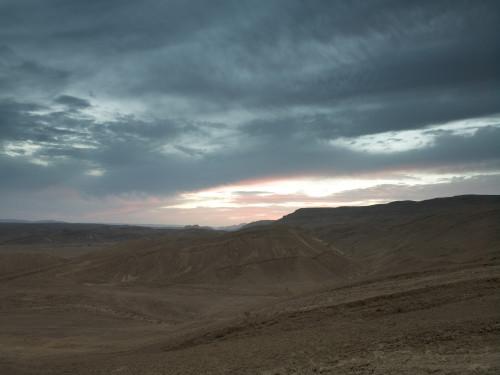 Mountains at dusk by Assaf Frank