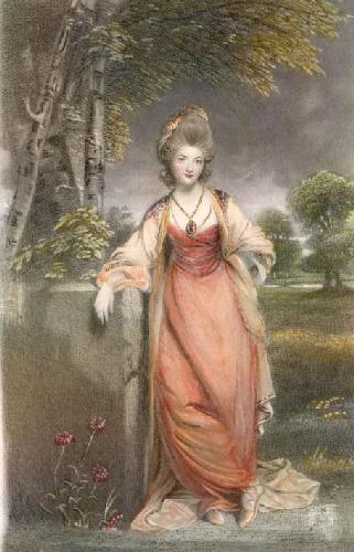 Lady Elizabeth Cavendish (Restrike Etching) by Sir Joshua Reynolds