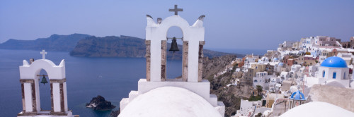 Greek Isle Santorini by Assaf Frank