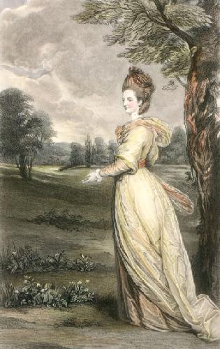 Lady Francis Marsham (Restrike Etching) by Sir Joshua Reynolds