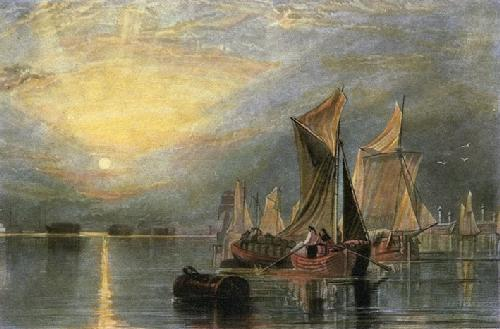 Stangate Creek on River Medway (Restrike Etching) by Joseph Mallord William Turner
