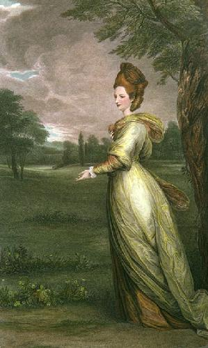 Lady Francis Marsham (Restrike Etching) by Sir Joshua Reynolds