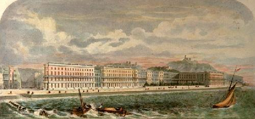 Crown Estate Hastings (Restrike Etching) by Sumner