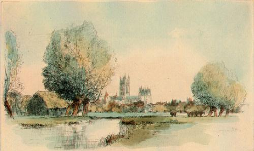 Canterbury (Restrike Etching) by Anonymous