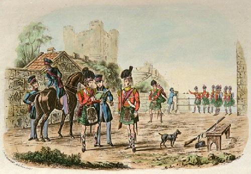 Regimental Orders (Restrike Etching) by Charles Newhouse