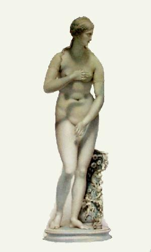 Statue - Pl. XIII (Restrike Etching) by Edward Henry Corbould