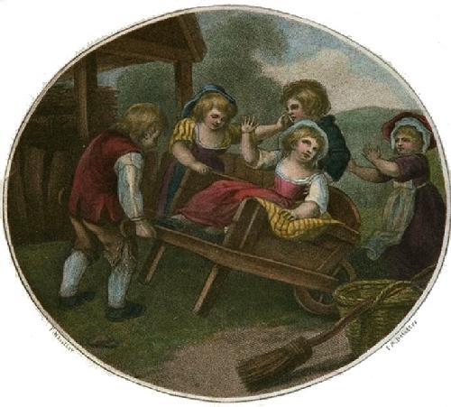 Wheelbarrow (Restrike Etching) by Francis Wheatley