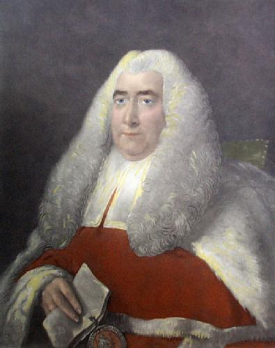 Hon. Justice Blackstone (Restrike Etching) by Thomas Gainsborough