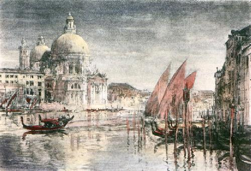 Venice (Restrike Etching) by Harry C. Brewer