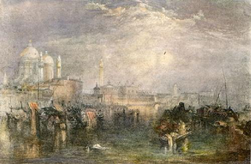 Grand Canal Venice (Restrike Etching) by Joseph Mallord William Turner