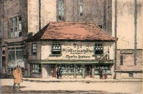 Old Curiosity Shop (Large) (Restrike Etching) by Anonymous
